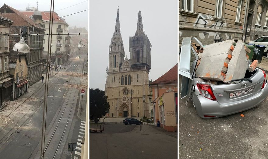 Snazan Potres Pogodio Zagreb Osjetio Se I Kod Nas Compas
